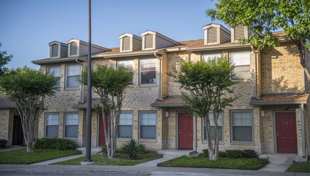 A picture of a Class C multifamily property in Texas